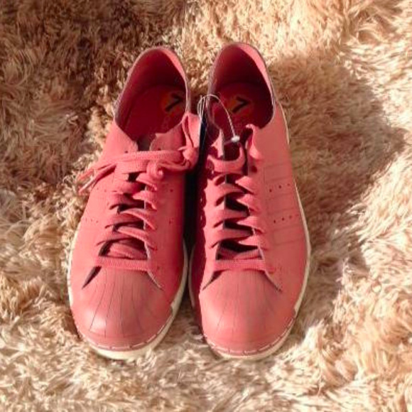 more photos 8b41a fbaaf Adidas Superstar 80s Decon Ash Pink Sneakers